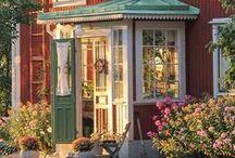 Erikas hus: Huset / #byggnadsvård #gamla #hus #restaurering
