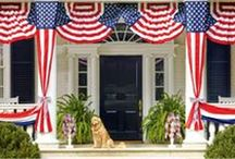 4th of July / Fourth of July decor and party ideas!