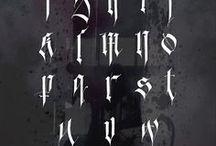 schrift / writing