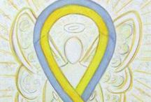 Yellow and Gray Awareness Ribbon / This board will feature images and gifts for the yellow and gray awareness ribbon.  Gray and gold is for childhood brain cancer, but sometimes the color yellow is used to represent the color gold.  This ribbon can also be used to represent silver and gold which is for multiple conditions.  See our other boards for gold/gray or gold/silver for more images.