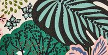 *illustration / illustration inspiration and ideas   - prints - colours - designs - background - patterns