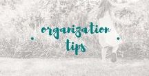 organization tips and tricks / Great ideas for time management, how to organize your home, how to organize your life, toy organization, kitchen organization, DIY organization, organization hacks, and more