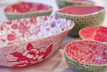 Ceramics Cravings / Pottery, plates, porcelain, cups / by Villa Figura
