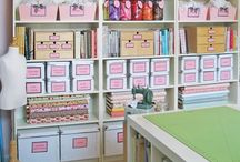Home: Organization, Craft Room Storage, Ideas, Etc. / by Cindy Simpson