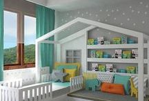 Children's room ideas / Get some fun and practical inspiration for your child's room.