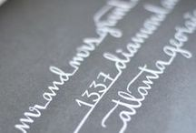 Typography and letters
