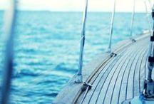 Boat & sea / by Julie Coq