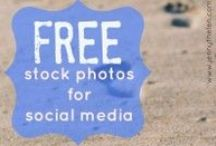 Free Stock Photos / Resources for finding high-quality free stock photos for social media and other uses. #photography #stockphotos / by Jenny Thelen