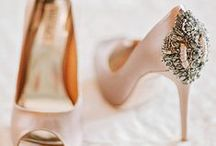 The Best Shoes / Chic shoes with style and sparkle for brides, bridesmaids and wedding guests. / by Bride & Blossom