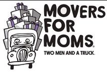 Movers For Moms / Movers For Moms is our annual spring donation drive aimed at collecting essential items for mothers in need living in shelters. / by TWO MEN AND A TRUCK Charlotte
