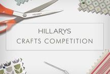Hillarys Craft Competition 2015 / Back by popular demand, we challenged bloggers to a craft competition and create whatever they wanted out of a 1m x 1m piece of our fabric. Find out more about the competition here: www.hillarys.co.uk/inspiration/2015/05/hillarys-craft-competition-2015