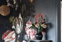 Floral Interiors / Transform your home interiors with prints, patterns and textiles inspired by flowers and plants