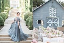 Wedding Color Palette / Get inspired by these beautiful wedding story color boards.