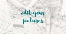 edit your pictures / Even non-professional photographers can edit pictures.  Learn how to edit your family photographs by using Lightroom, and Photoshop.  How to use presets or actions on your pictures.  How to post process your pictures.