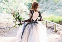 Black & White Chic / Nothing says chic like a black and white wedding