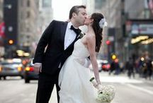 New York City Weddings / The look of love in NYC