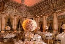 Manhattan Glam by Bride & Blossom / This classic NYC wedding took place at the Plaza Hotel and was photographed by Fred Marcus Photography.
