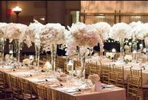 Ethereal Whites by Bride & Blossom / A peak into this beautiful Spring wedding at Gotham Hall in New York City