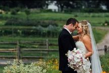 Beautiful Barn by Bride & Blossom / The perfect barn-chic wedding at Blue Hill Stones Barns in Westchester, NY.