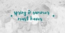 spring and summer must haves / Things families would love to have for spring and summer fun, or essentials.  Spring toys.  Summer toys.