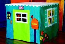 Casas-mantel (Tablecloth Playhouse)