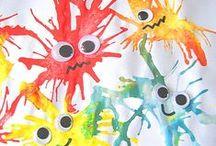 Crafts for kids - Manualidades para niños