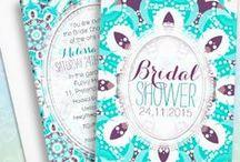 Bridal Shower • Bachelorette Invitations