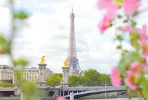 France ❥ / La vie en rose. / by Jean-Marie Anderson