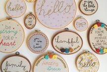 Bastidores || Embroidery hoop