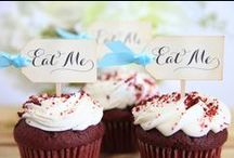 Cupcake Toppers / Handmade Cupcake toppers
