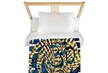 "Duvet Covers (Single) / Webgrrl designs Doona covers * Duvet Covers  for Single Beds | Duvet Cover Size: 68"" x 88"" * 100% woven polyester * Soft fleece top, breathable microfiber underneath * Snap closure * Prints on one side, reverse is white 