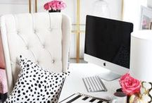 Home Office Decor / Office Ideas and Inspirations