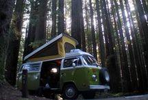Camper Life / VW Westfalias & Airstream love
