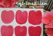 Postikortteja IreneEllen / IreneEllenin kuvittamia postikortteja