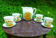 My hand painted sets and coffee/tea pots / * hand painted mugs * high quality of porcelain (Czech Republic) * original porcelain paintings