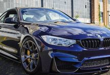 BMW M3 Tanzanit Blue