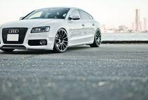 Audi A5 Sportback S line White