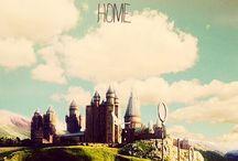 Hogwarts / Creé éste tablero para compartir imágenes de la hermosa saga Harry Potter. Espero que les gusten!