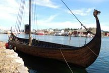 Adventures in Norway 2015 / This summer will be my second season working at the Lofotr Viking Museum in Lofoten, Northern Norway. It was here in the small village of Borg that archaeologists in the 1980's first discovered the remains of the world's largest Viking longhouse. They soon reconstructed the house where every summer people of different crafts work for the summer. Like last year I will be spending my summer sailing longships, making bows and arrows in the reconstructed longhouse and teaching about archaeology.
