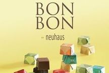 The BonBon Collection / The BONBONS collection with its traditional flavours and contemporary styling comprises 5 classy pralines shaped in small cubes. With this collection of contemporary chocolate treats, our Maître Chocolatier offers a trip down memory lane for those of us nostalgic for carefree indulgent delights.
