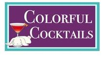 Colorful Cocktails / Okay, confession tiime. I love me a colorful, umbrella-filled cocktail. Look at these tempting examples!