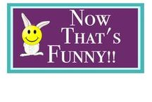 Now That's Funny! / Did you know laughter has a positive effect on pain? Here's your laugh for today!