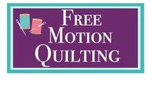 Free-Motion Quilting Ideas / My favorite part of quilting is the free-motion quilting that is done after the quilt is put together. I am always looking for inspiration and design ideas and this is a great collection!