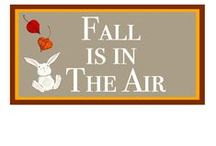 Fall Is In The Air / Altough I'm a Summer girl, my second favorite season is Fall. I love the colors, the special food, the scents, the fun and most of all, is isn't Winter!