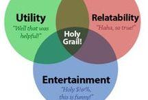 Definiciones gráficas de contenido / Imágenes que explican visualmente qué es contenido o alguno de sus aspectos.