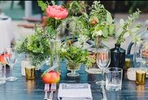Centerpieces / Inspired table top designs from weddings we adore