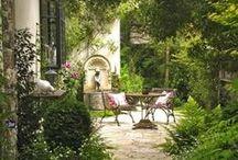 """: Garden : / """"My garden is my most beautiful masterpiece"""" ― Claude Monet"""