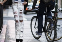 ...KNEES, (and toes) / Fashionable knobby-knee covers: pants, skirts, jeans, and so on. / by Veronica Urban