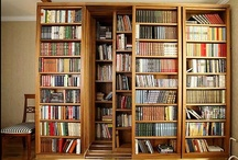 Bookshelves / Interesting ways to store books