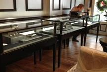 Horizontal Display Cases / Custom built Jewelry Display Cases
